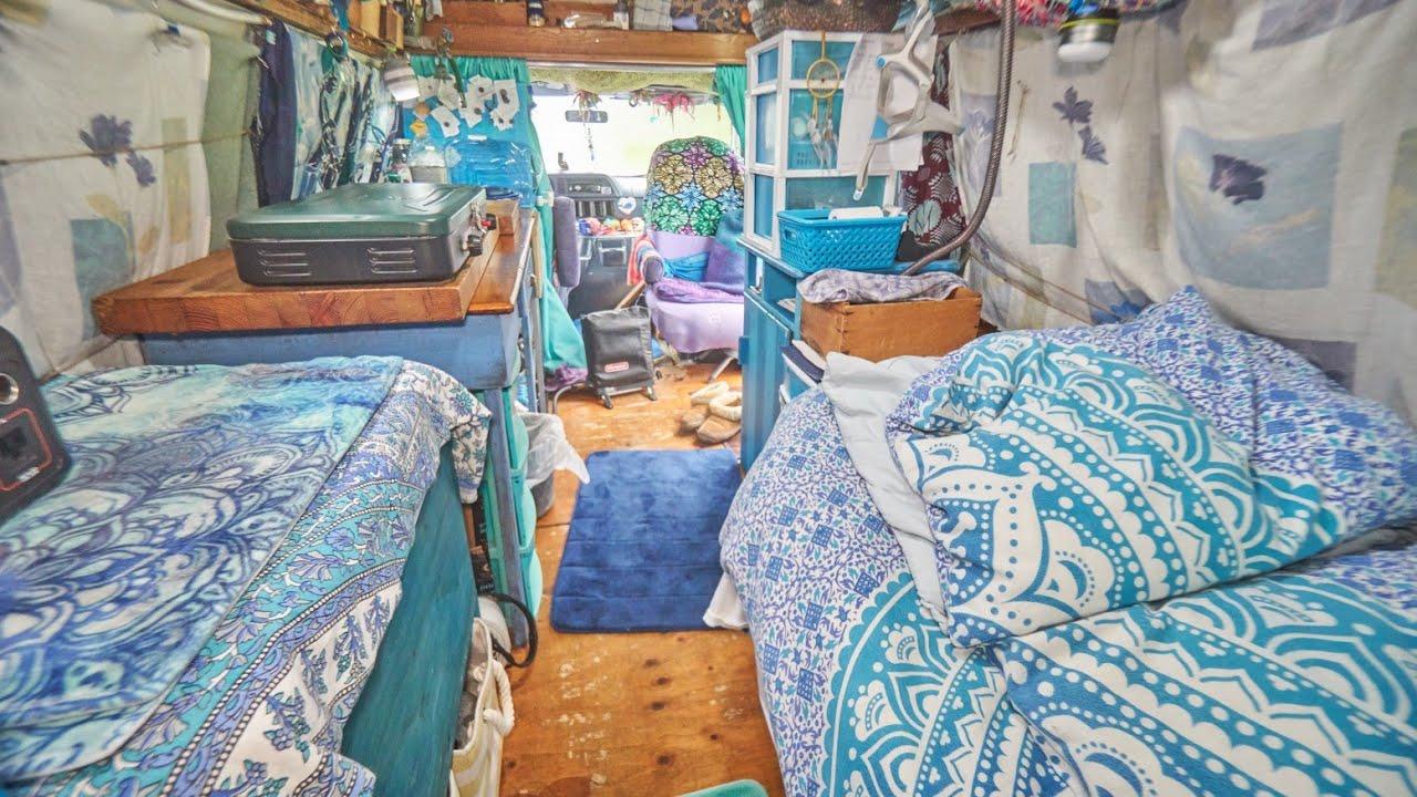 Solo Female Van Life Tour! Choosing Vanlife in Converted camper van.