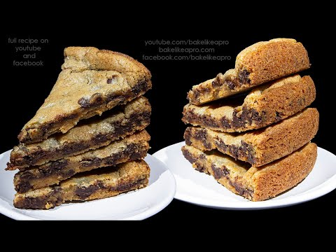 So Good Easy Chocolate Chip Cookie Cake Recipe