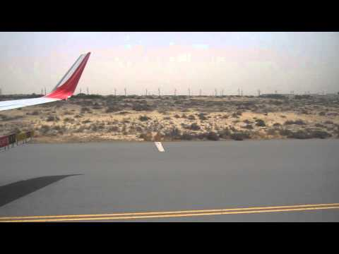 BEAUTIFUL TAKE OFF FROM SHARJAH AIRPORT