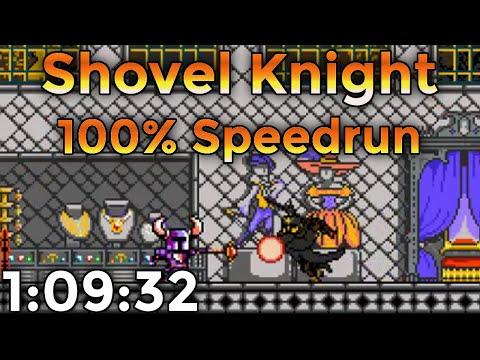 Shovel Knight - 100% Speedrun in 1:09:32