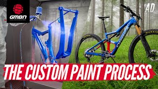 How Are Custom Painted Mountain Bikes Made? | Orbea MyO From Start To Finish