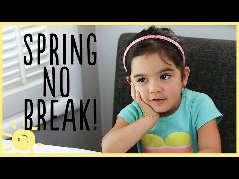 Spring NO Break!