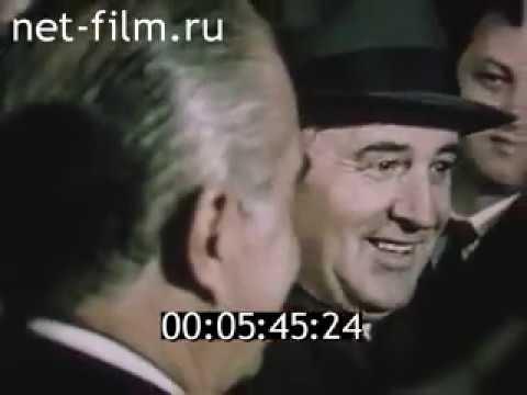 Visita de José Sarney a USSR em 1988 / Visit of José Sarney to USSR in 1988
