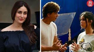 Kareena To Star In 'Aapla Manus' Remake?   Katrina-SRK's Fun Time On The Sets Of 'Zero'