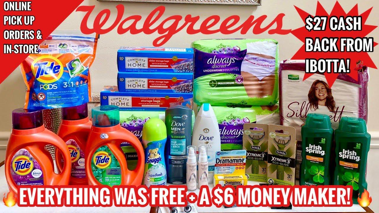 Walgreens #Winning | ALL DIGITAL Online & In-Store Couponing Deals | $6 Money Maker🔥 | 7/18 - 7/24
