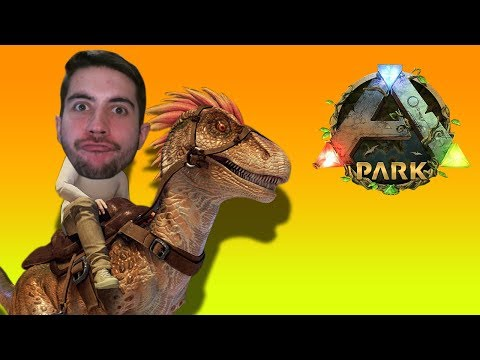 ARK Park VR Gameplay - ARK IN VR IS THE COOLEST THING I'VE EVER SEEN! *AMAZING*