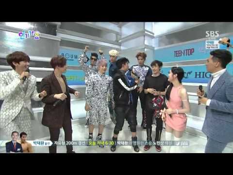 140922 2PM - Interview @ Inkigayo [1080p]