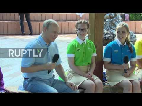Download Youtube: Russia: Artek winery visit prompts Putin joke