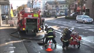 Repeat youtube video Jレスキュー2013年1月号 P20~28 渋川消防「火災防ぎょ戦術」