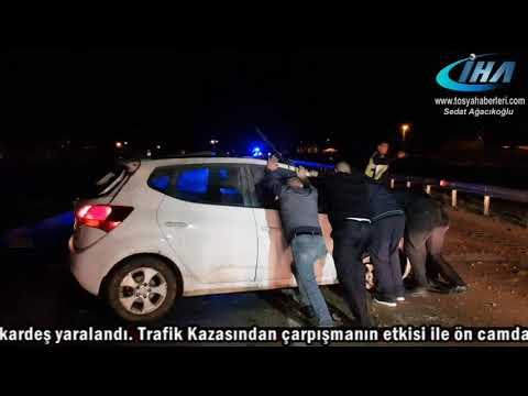 TOSYA ÇAYKAPI KÖYÜ TRAFİK KAZASI 2...