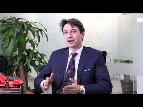 Career in Management...Andrea Baldi, Managing Director at Automobili Lamborghini China