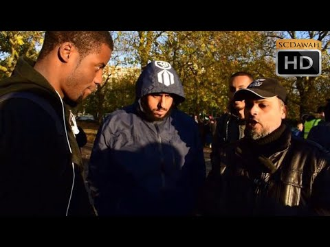 P1 - Nature of Jesus? Hashim vs Christian   Speakers Corner   Hyde park