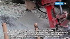 E. Hartikainen Oy poraa uudistuneella Sandvik DX780 poralaitteella