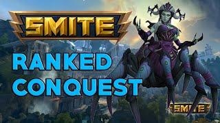 SMITE | Golden Blade con Arachne solo y pasa esto... | Master Ranked S6