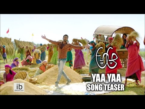 A Aa Yaa Yaa Song Teaser   Nithin   Samantha   Trivikram Srinivas