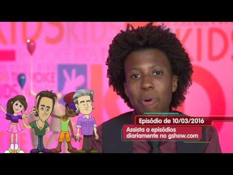 The Voice Kids Web - Dicionário The Voice Kids para #TimeBrown: amigo e liberdade
