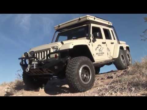 JK6 – 6 wheel drive Jeep