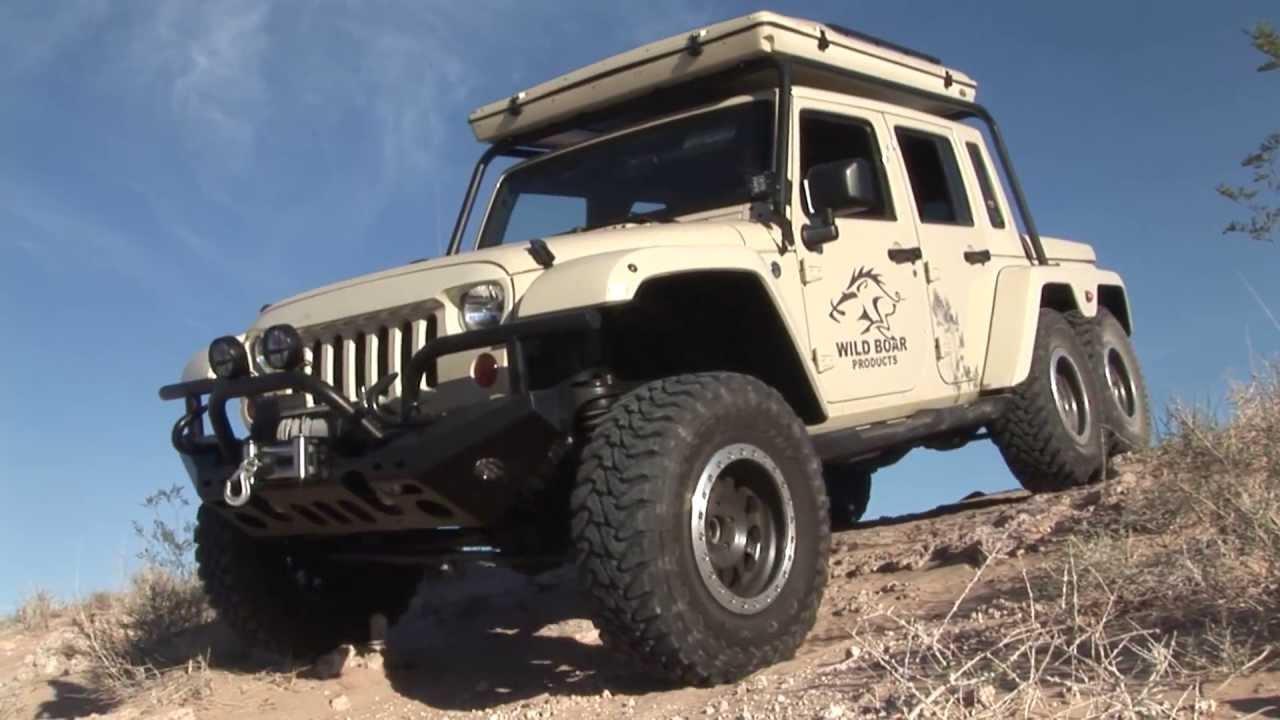 Jk6 - 6 Wheel Drive Jeep