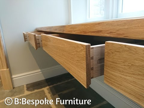 Bespoke Furniture Commissions: Alsop Hall 'Floating' Desk