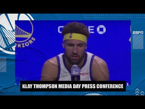 Klay Thompson Full Media Day Interview