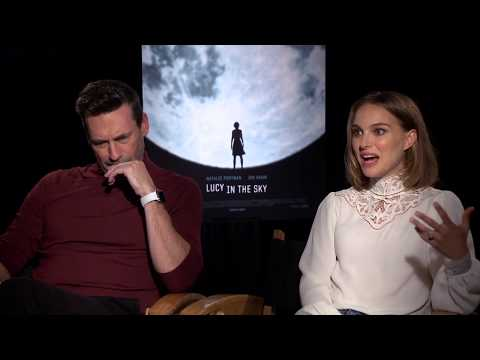 JON HAMM AND NATALIE PORTMAN Lucy In The Sky