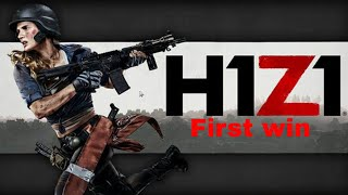 H1Z1 First Win with LordGeddy