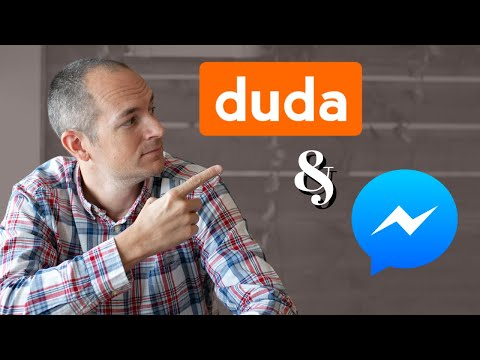 HOW TO ADD FB MESSENGER CHAT TO A DUDA WEBSITE