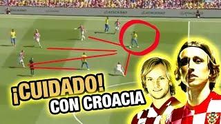 Así juega la Croacia de Modric y Rakitic - Análisis Táctico Selección Croata Mundial Rusia 2018