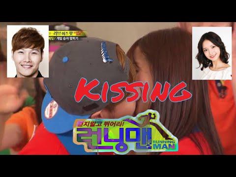 Kim Jong Kook - Yeonsoo Kissing   Love Radish   Running Man
