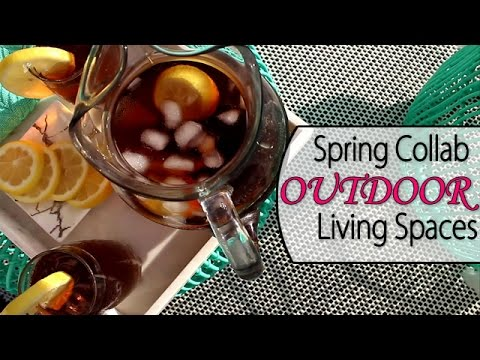 Outdoor Living Spaces | Spring Collab 2017 - Patio Makeover