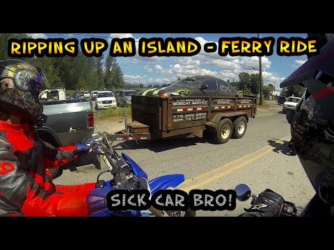 Ripping Up Barnston Island - Wrecked Cars & Indian Land