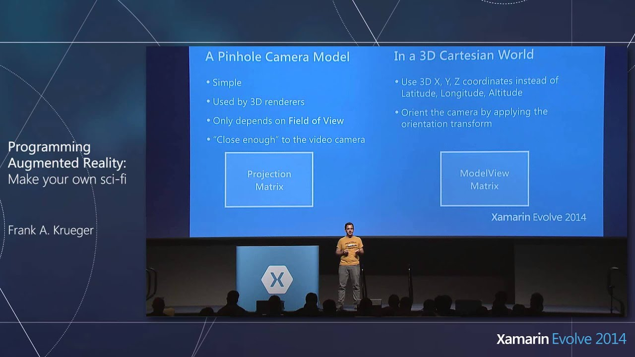 Programming Augmented Reality - Xamarin Evolve Presentation