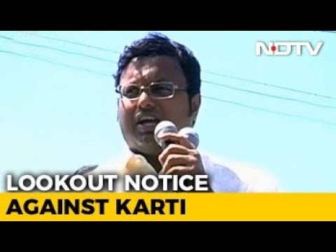 CBI Issues Lookout Notice For P Chidambaram's Son Karti, He Moves Court