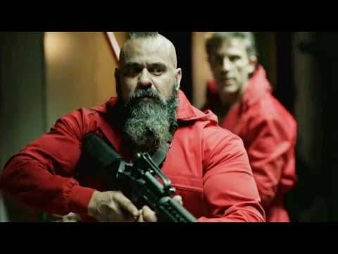 Money heist clips in hindi l Hostages attack on Oslo and escaping scene-1 l Money Heist Hindi scene