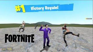 Fortnite: DANCES Mod in Garry's mod!