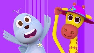 The Giraffe And The Seal | Baby Music | Songs for Kids & Nursery Rhymes