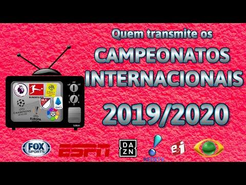 Veja onde assistir os campeonatos europeus na temporada 2019/20
