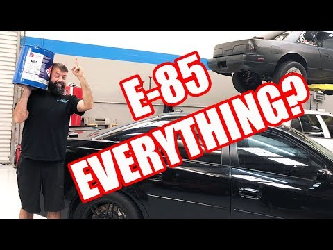E85 power myths tested! NA vs BOOST & port injection vs direct gains