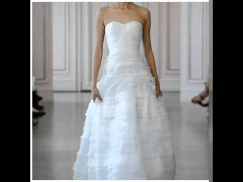Oscar DeLa Renta Wedding Dresses Spring 2016