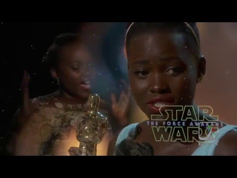 Star Wars The Force Awakens Interview w/ Luptia Nyong'o