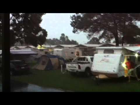 Thunderstorm over Geelong, Victoria