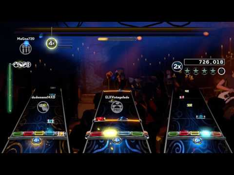 Rock Band 4 - Muse - Hysteria 100% FBFC