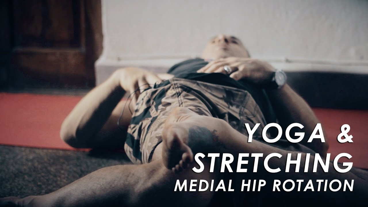 Ashtanga Yoga - Medial Rotation of Hips / Hip Stretching