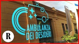 Parma, comincia il viaggio dell'Ambulanza dei desideri