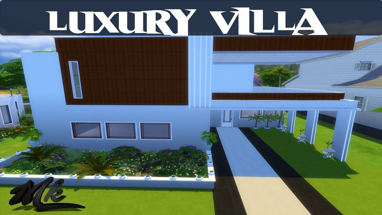 The Sims 4 House Building Luxury Small House Modern