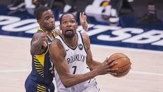 Kevin Durant 42 Points vs Pacers No Kyrie! 2020-21 NBA Season