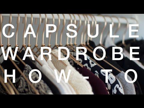 How To Make a Capsule Wardrobe | ViviannaDoesStyle