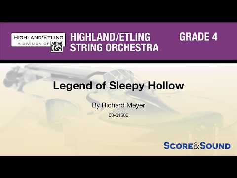 Legend of Sleepy Hollow, by Richard Meyer – Score & Sound