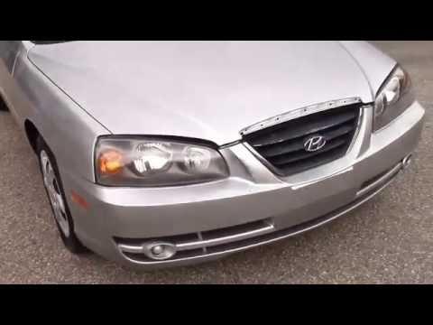 2004 Hyundai Elantra GLS Silver for sale
