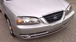 2004 Hyundai Elantra GLS Silver for sale смотреть